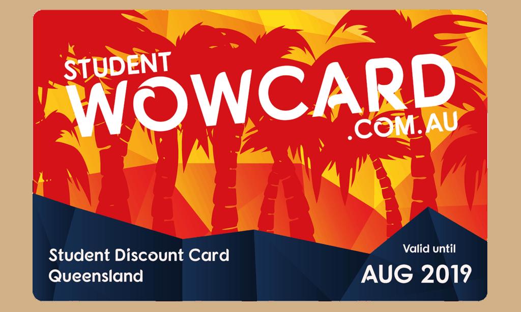 student wow card membership