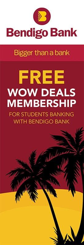 bendigo bank student banner ad