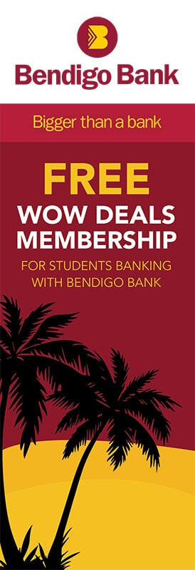 bendigo bank student membership account