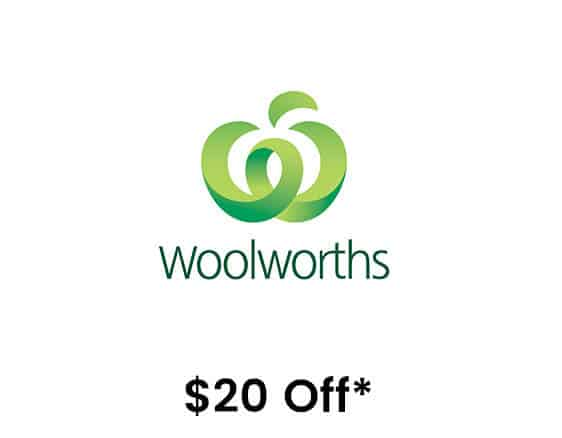 $20 Off Woolworths Student Discount